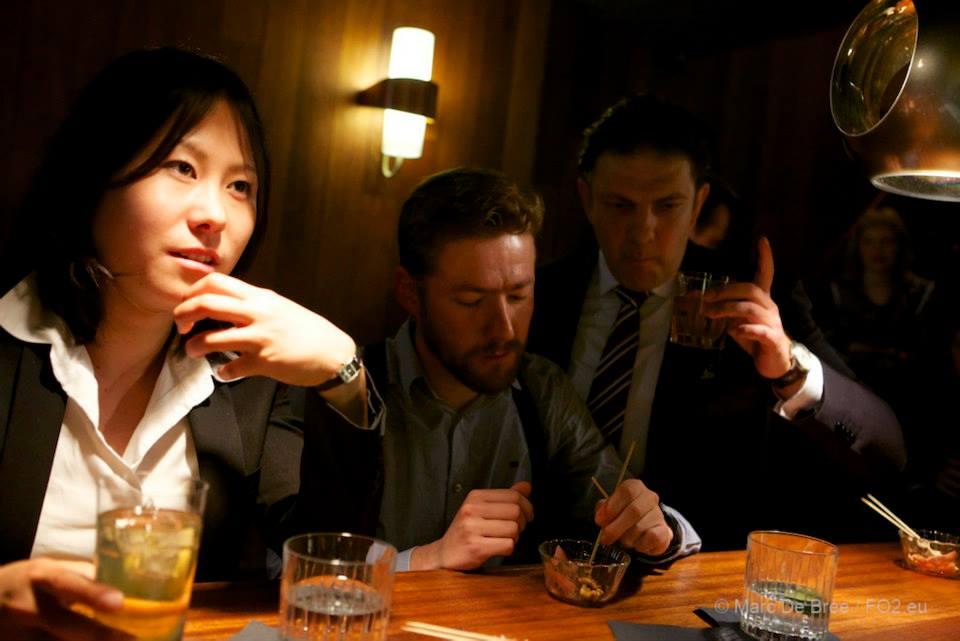 Sayumi Ohyama, myself and Ben Belmans