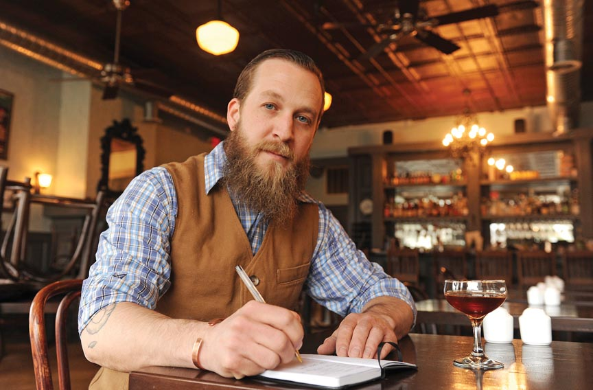 There is nothing wrong with bearded and tattooed bartenders, it is the person who thinks you need them to be a good bartender that is wrong.