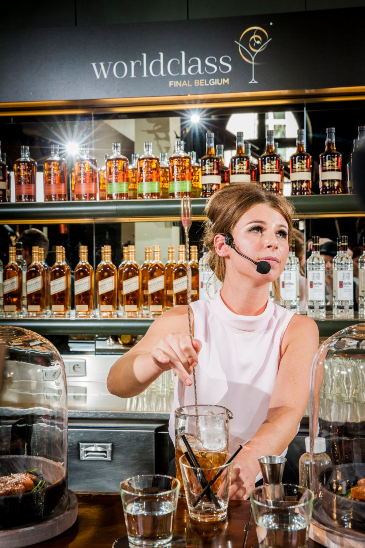 Hannah Van Ongevalle - Belgium's Best Bartender 2014