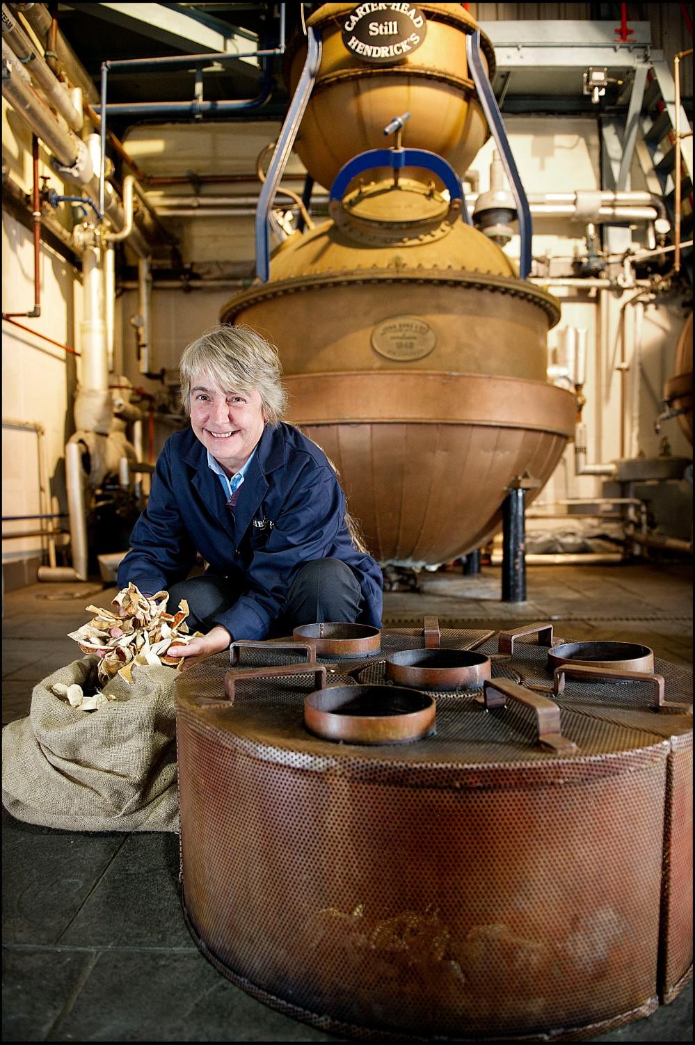 Hendrick's Master Distiller Lesley Gracie