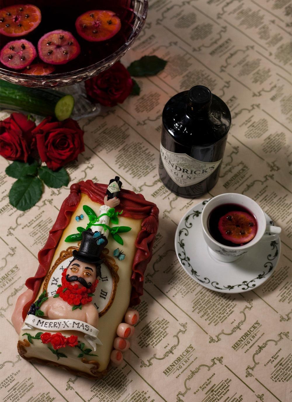 Hendrick's Christmas Cake by Harald Ligtvoet