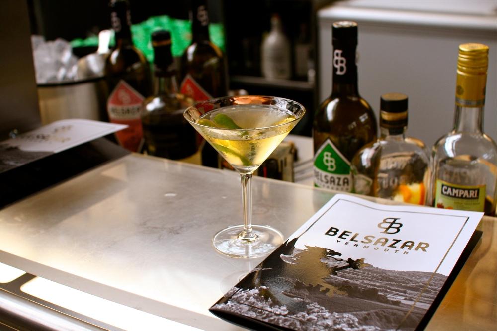 A cracking Belsazar Dry Martini.