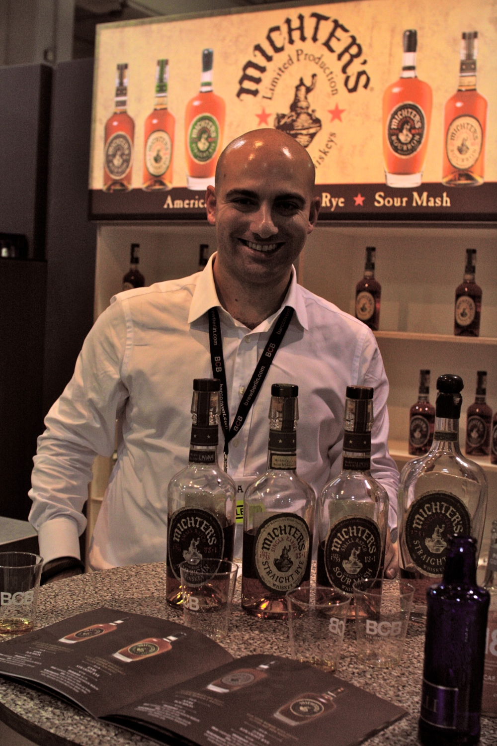 Mr. Matthew T. Magliocco of Michter's, a dedicated man, very passionate about his product.