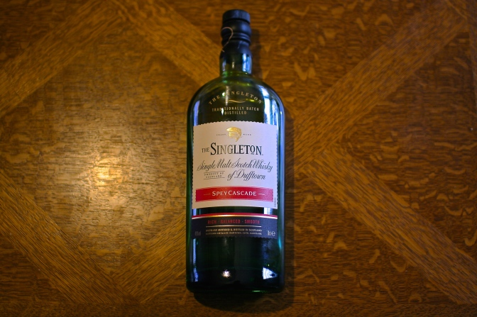 The Cocktail Nation reviews The Singleton Spey Cascade – Single Malt of Dufftown
