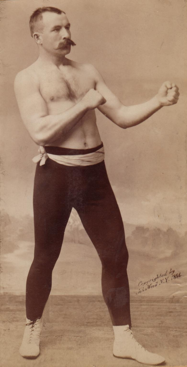 Jake Kilrain, bare knuckle boxer, and perfect metaphor for the grainy smell of The Singleton