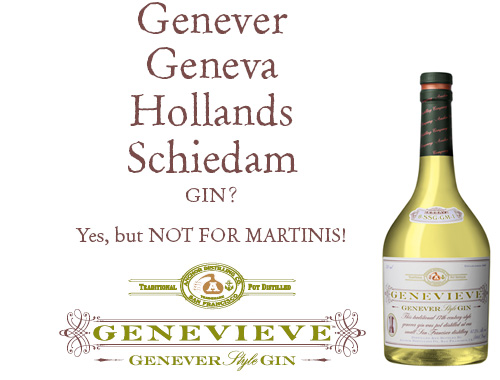 Genevieve - American Geneva from the people who also make Junipero Gin