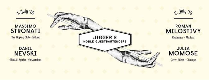 Jigger's will be jamming with the best of the world!