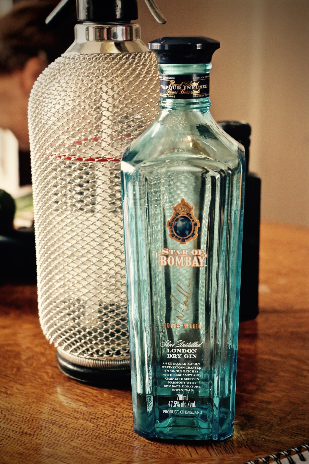 Star of Bombay bottle