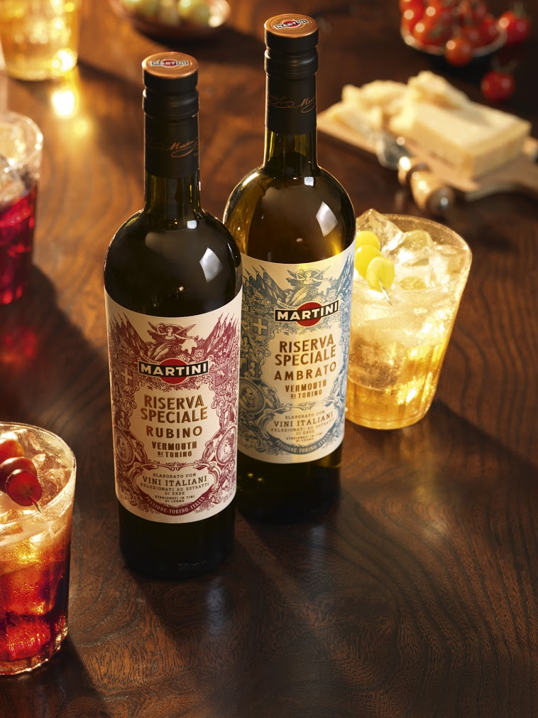 Martini's new vermouth, a large improvement over the old one in my opinion.