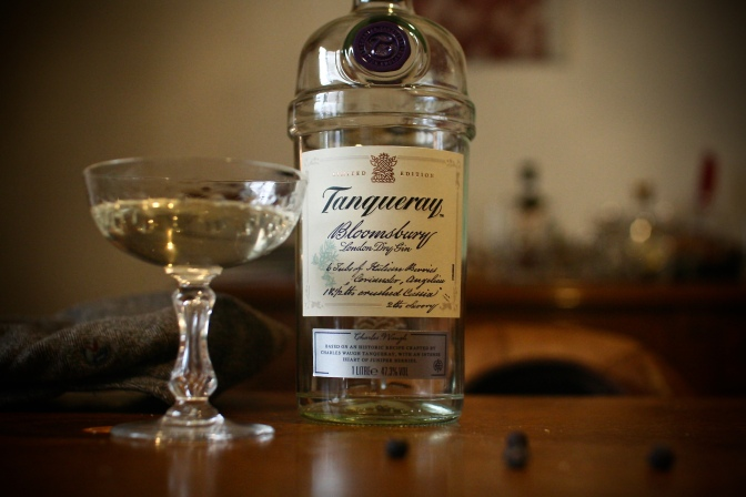 Tanqueray Bloomsbury -Pity the Gods it's limited, for this is as gin should be