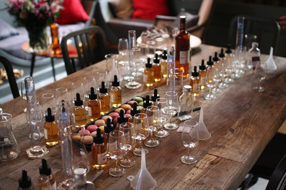 The blending table