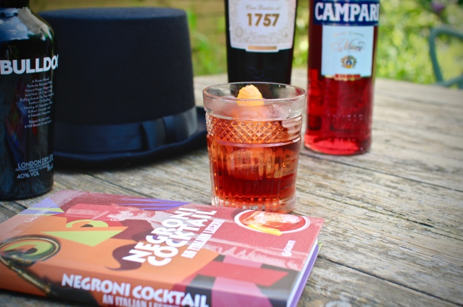 There's  no cheers without a good cause! And this week you'll be toasting with Negronis