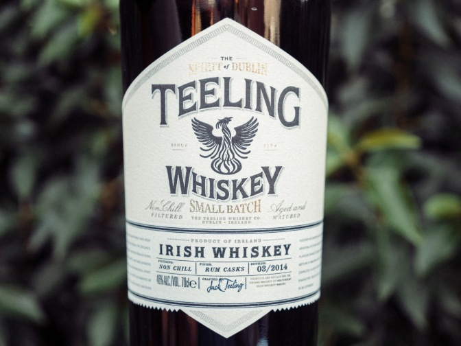 Have a Teeling Irish Whiskey on St. Paddy's Day