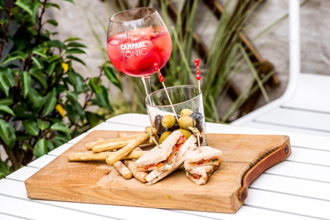 Campari soon opens new piazza of pleasure in Antwerp: Gaspare La Piazza Dell'Aperitivo